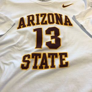 Nike ASU Harden White T-shirt Men's